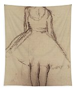 Ballerina Viewed From The Back  Tapestry
