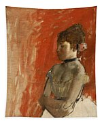 Ballet Dancer With Arms Crossed Tapestry
