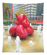 Balloon Flower In The Water Tapestry