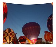 Balloon-glow-7808 Tapestry