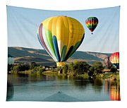 Balloon Reflections Tapestry