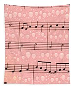 Balloons And Music Tapestry