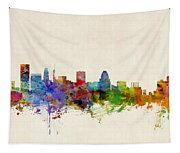 Baltimore Maryland Skyline Tapestry