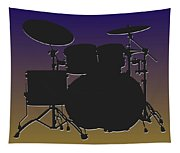 Baltimore Ravens Drum Set Tapestry