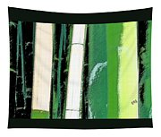 Bamboo Abstraction Tapestry