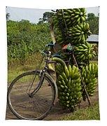 Banana Bike Tapestry