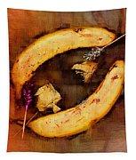 Bananas Pop Art Tapestry