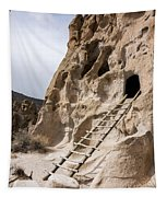 Bandelier Caveate - Bandelier National Monument New Mexico Tapestry