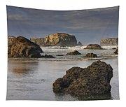 Bandon Sea Stacks Tapestry