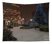 Bangor Maine Christmas Tapestry