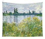 Banks Of The Seine Vetheuil Tapestry