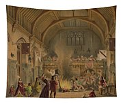 Banquet In The Baronial Hall, Penshurst Tapestry
