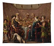 Banquet Scene Tapestry