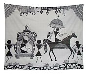 Baraat - The Wedding Procession Tapestry