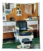 Barber - Barber Shop One Chair Tapestry