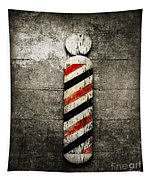Barber Pole Selective Color Tapestry