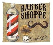 Barber Shoppe 1 Tapestry