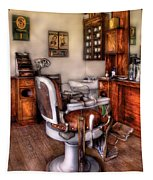 Barber - The Barber Chair Tapestry