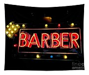 Barber This Way Tapestry