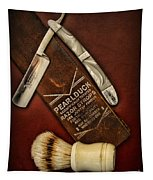 Barber - Tools For A Close Shave  Tapestry