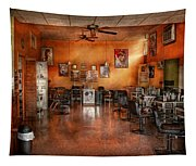 Barber - Union Nj - The Modern Salon  Tapestry