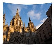 Barcelona's Marvelous Architecture - Cathedral Of The Holy Cross And Saint Eulalia Tapestry