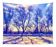 Bare Trees Tapestry