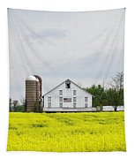 Barn And Silos 2 Tapestry