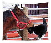 Barn Buddies Tapestry