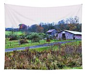Barn - End Of The Road Tapestry