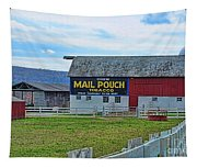 Barn - Mail Pouch Tobacco Tapestry