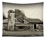 Barn - Old And Run Down Tapestry