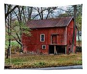 Barn - Seen Better Days Tapestry