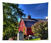 Barn With Out-sheds Brunner Family Farm Tapestry
