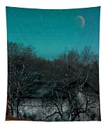 Barns-featured In Visions Of The Night Group Tapestry