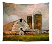 Barns In The Country Tapestry
