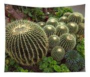 Barrel Cacti Tapestry