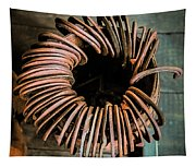 Barrel Of Horseshoes Tapestry