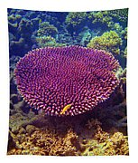 Barrier Reef Coral II Tapestry