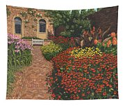 Barrington Court Gardens Somerset Tapestry