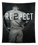 Baseball With Jeter Tapestry