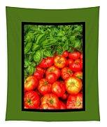 Basil Tomato Tapestry