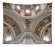 Basilica Of St. Peter In Salzburg Tapestry
