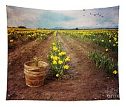 basket with Daffodils Tapestry