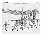 Basketball, C1892 Tapestry