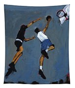Basketball Players Tapestry