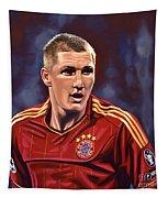 Bastian Schweinsteiger Tapestry by Paul Meijering