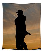 Batter At Dawn - Phillies Tapestry