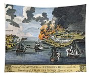 Battle Of Bunker Hill, 1775 Tapestry
