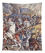 Battle Of Fornovo, Illustration Tapestry
